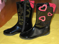 Girl's Rain Boot from The Children's Place - Size 3 (New)