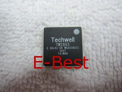 1 Piece New Techwell Tw2865 Qfp128  Ic Chip