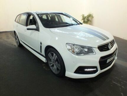 2014 Holden Commodore VF MY15 SV6 White 6 Speed Automatic Sportswagon Clemton Park Canterbury Area Preview