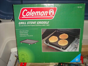 COLEMAN GRILL STOVE GRIDDLE EXCELLENT CONDITION......