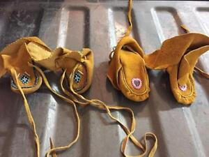 Traditional Made Leather Baby Shoes