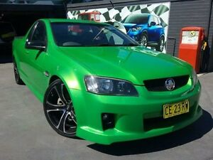 2008 Holden Commodore VE SV6 Green 6 Speed Manual Utility Greenacre Bankstown Area Preview