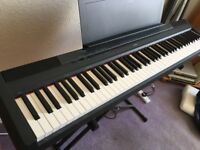 Yamaha P115 digital piano - weighted keyboard for learner or gigging