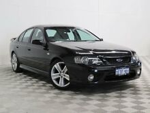 2007 Ford Falcon BF MkII XR6 Black 6 Speed Auto Seq Sportshift Sedan Hillman Rockingham Area Preview