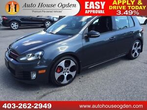 2010 Volkswagen Golf GTI LEATHER ROOF EVERYONE APPROVED!!!