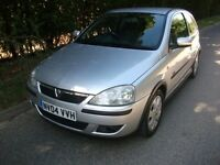 2004 Vauxhall Corsa 1.2 SXI 3door MOT February 2017