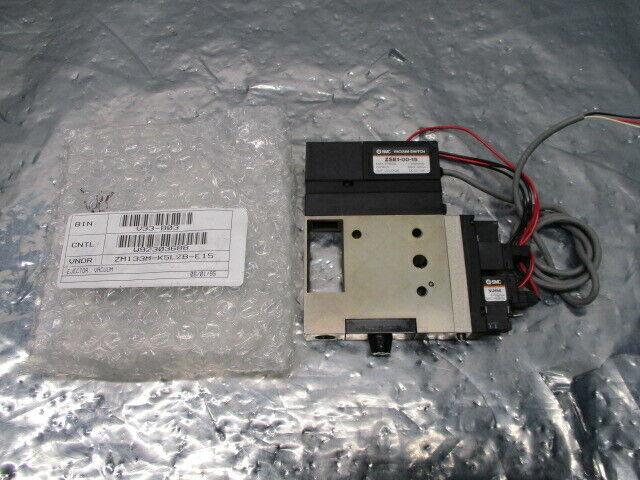 SMC ZM133M-K5LZEB-E15 Vacuum Ejector Switch Assy, ZSE1-00-15, ZM133M, 100803