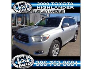 2009 Toyota Highlander V6 - GOOD, BAD OR NO CREDIT UR APPROVED!