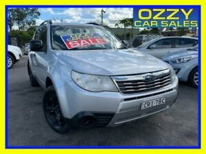 2008 Subaru Forester MY08 X Silver 4 Speed Auto Elec Sportshift Wagon Minto Campbelltown Area Preview