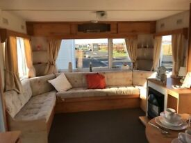 Fantastic Cheap Starter Caravan with fees inc till 2019 Near Craig Tara On The West Coast