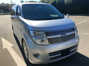 2008 Nissan Elgrand E51 Highway Star Silver Automatic Wagon Five Dock Canada Bay Area Preview