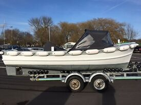 19ft Launch with Lister 30hp Diesel For Sale