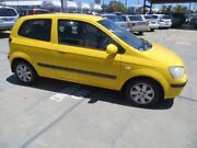 2004 Hyundai Getz TB MY04 XL Yellow 4 Speed Automatic Hatchback St James Victoria Park Area Preview