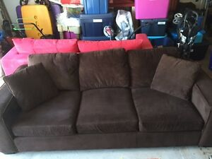 Brown Urban Barn Couch