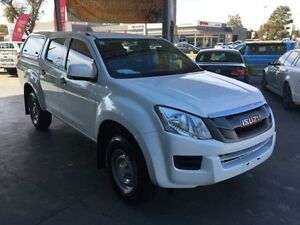 2013 Isuzu D-MAX MY12 SX High Ride White 5 Speed Automatic Utility Hamilton Newcastle Area Preview