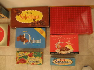 OLD CARDBOARD CHOCOLATE BOXES - OFFERS