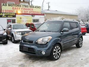 """ ON SALE "" 2012 KIA SOUL 4U SUNROOF AUTO LOAD 103K-100% FINANCE"