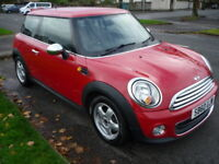 MINI One 1.6i 16V 98BHP ONE PEPPER PACK **High Spec Model** (red) 2011