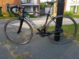 Specialized tarmac elite carbon fibre road bike