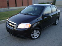 2010 CHEVROLET AVEO AUTO '' 60000 KMS'' WINTER TIRES''ONE TAX''