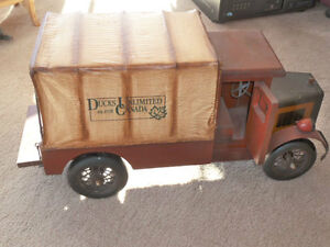 Ducks Unlimited Collectors Canvas Covered Truck