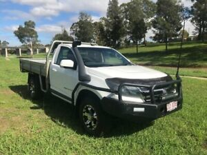 2016 Holden Colorado RG MY16 LS (4x4) White 6 Speed Manual Cab Chassis Oakey Toowoomba Surrounds Preview