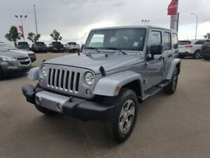 2017 Jeep Wrangler Unlimited 4WD  SAHARA $37888 Accident Free,