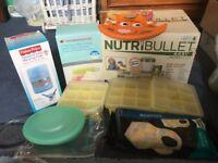 NutriBullet Baby Food Processor & Annabel Karmel Bundle