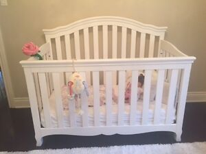 Baby Crib with Extras