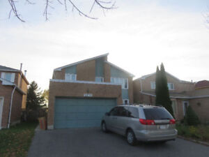 3 Beds+2 Washs+1 parking  Walkup Basement in Central Mississauga