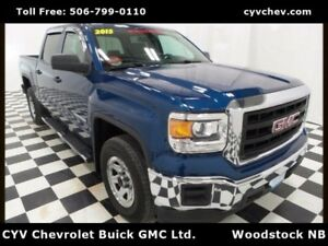 2015 GMC Sierra 1500 Crew Cab Work Truck - Vinyl Floor & Power O