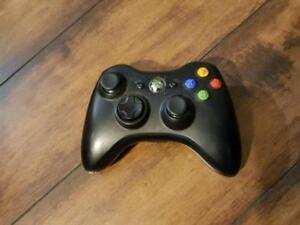 Microsoft Xbox 360 Wireless Controller -- BLACK