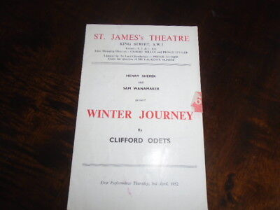 SAM WANAMAKER - MICHAEL REDGRAVE - GOOGIE WITHERS in WINTER JOURNEY - 1952