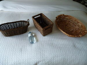 Set of Three Storage Baskets