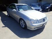 2004 Mercedes-Benz CLK320 C209 MY05 Elegance Metallic Silver 5 Speed Automatic Coupe Wangara Wanneroo Area Preview