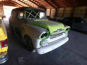 REALLY SOLID 58 CHEVY PANEL TRUCK