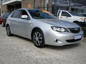 2007 Subaru Impreza MY08 R (AWD) Silver 4 Speed Automatic Hatchback Wangara Wanneroo Area Preview