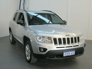 2013 Jeep Compass MK MY13 Sport CVT Auto Stick Silver 6 Speed Constant Variable Wagon