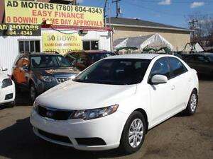 2013 KIA FORTE AUTO LOADED 84K-100% APPROVED FINANCING!!