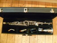 B&H alto clarinet -very good condition-used as an alto sax double/basset hron replacement/jazz etc