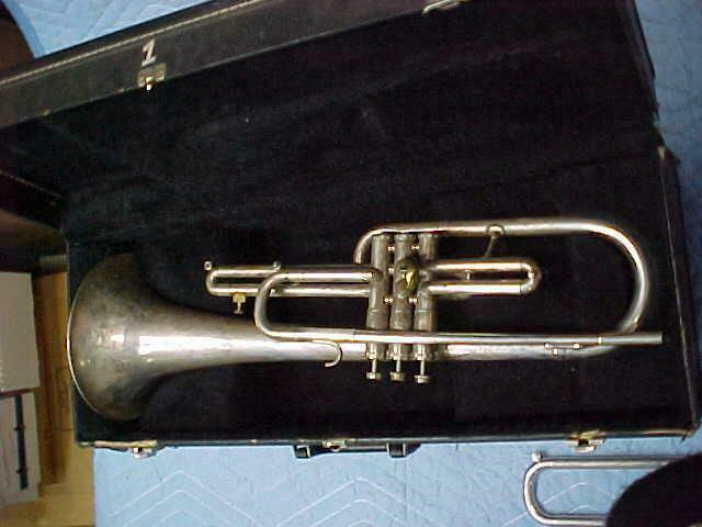 Getzen 300 Series Silver F/Eb French Horn/Frumpet,  Ready to Play Condition