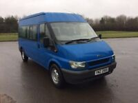 2002 ford transit 15 seater*86k miles*minibus direct from lease company *no vat*