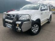 2008 Toyota Hilux KUN26R 08 Upgrade SR5 (4x4) White 4 Speed Automatic Dual Cab Pick-up Hoppers Crossing Wyndham Area Preview
