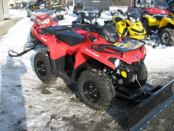Used 2015 Can-Am OUTLANDER 450L SNOW PLOW SPECIAL