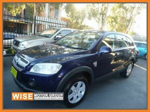 2006 Holden Captiva CG LX AWD Blue 5 Speed Sports Automatic Wagon Granville Parramatta Area Preview