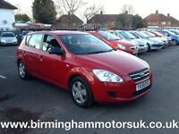 2008 (08 Reg) Kia Ceed 1.4 S 5DR Hatchback RED + 1 OWNER