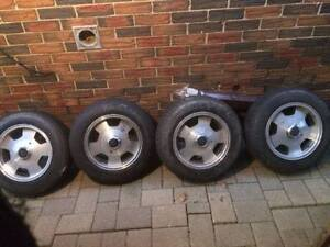 FOR SALE (4) 14 inch Rims for Datsun 240Z, Toyota or MGB used