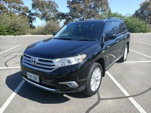 2012 Toyota Kluger GSU40R MY12 Grande 2WD Black 5 Speed Sports Automatic Wagon Enfield Port Adelaide Area Preview