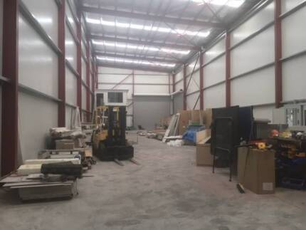 Factory Warehouse for shared lease