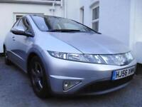 HONDA Civic 1.8i-VTEC ES, 5 DOOR, HPI CLEAR, FSH, A STUNNING HI-SPEC EXAMPLE !